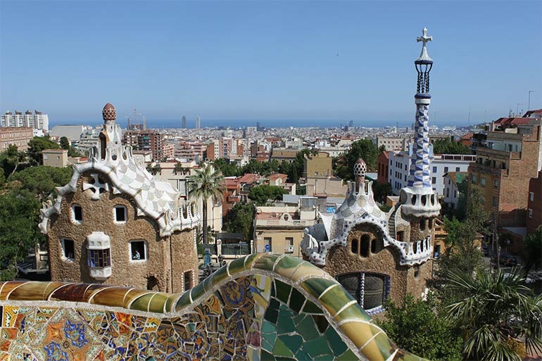 things to do in barcelona with kids Park Güell