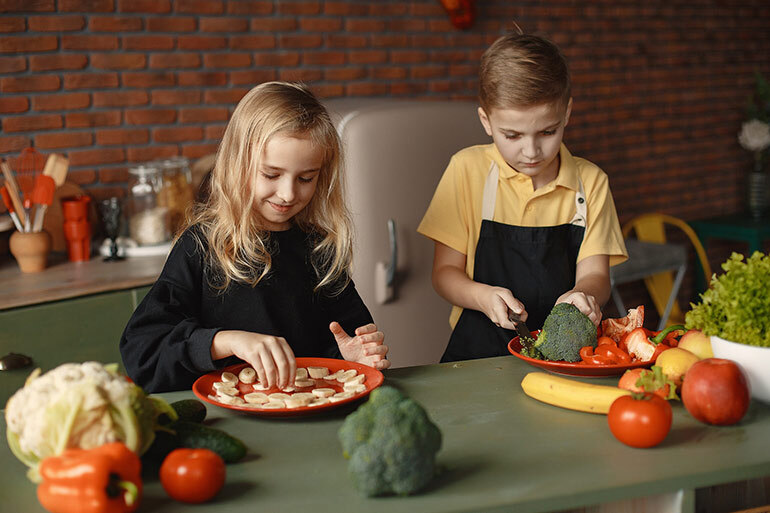 Unhealthy Food for Kids in Spain banana