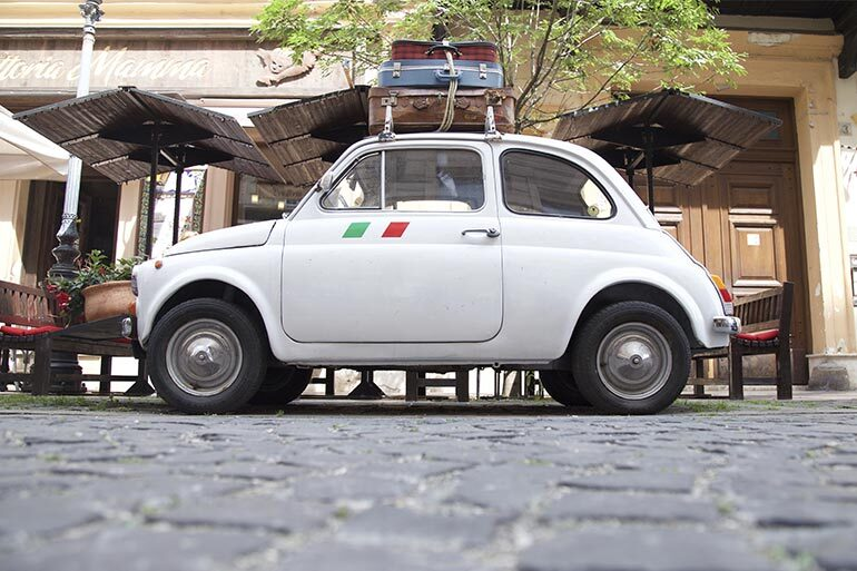 car repair and maintenance italian