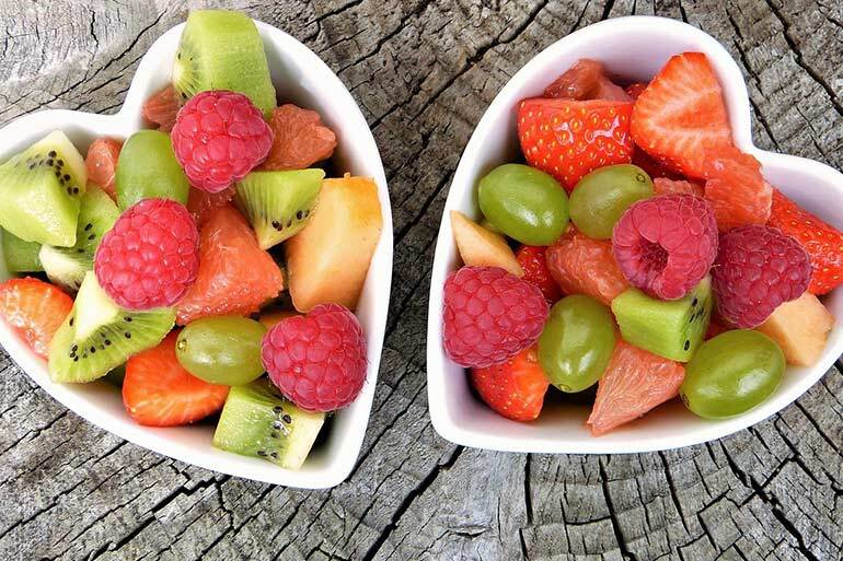 Unhealthy Food for Kids in Spain fruits