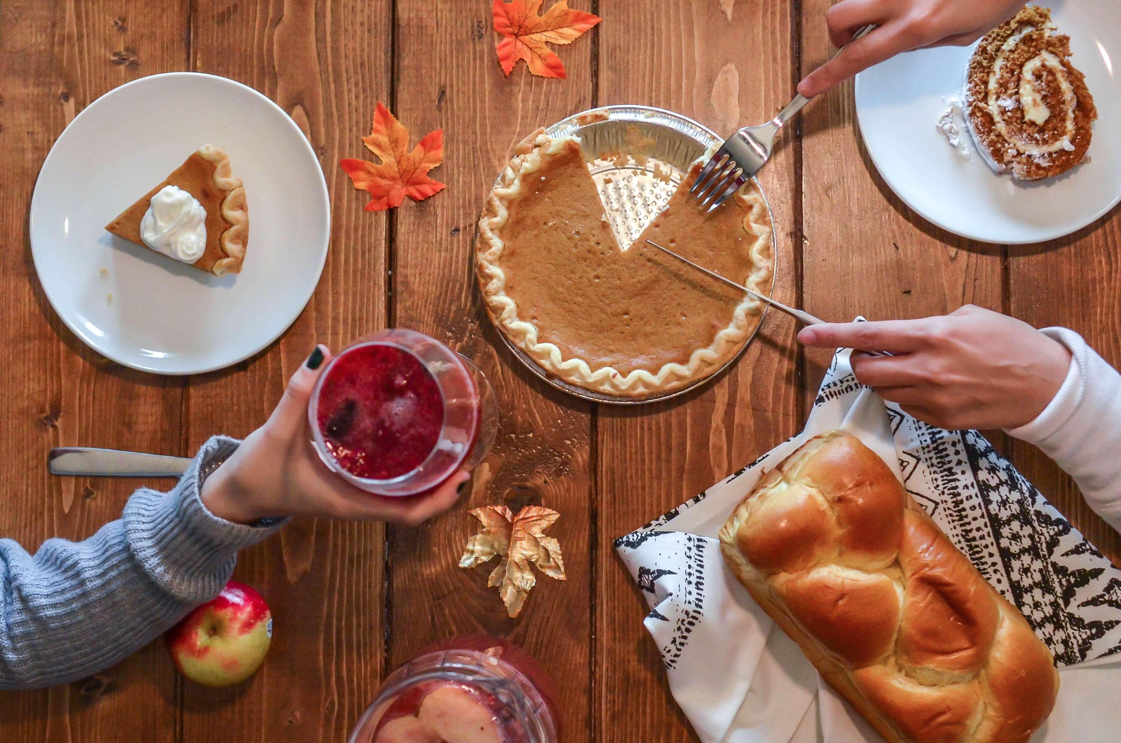 pumpkin pie is not common when living in spain as an american