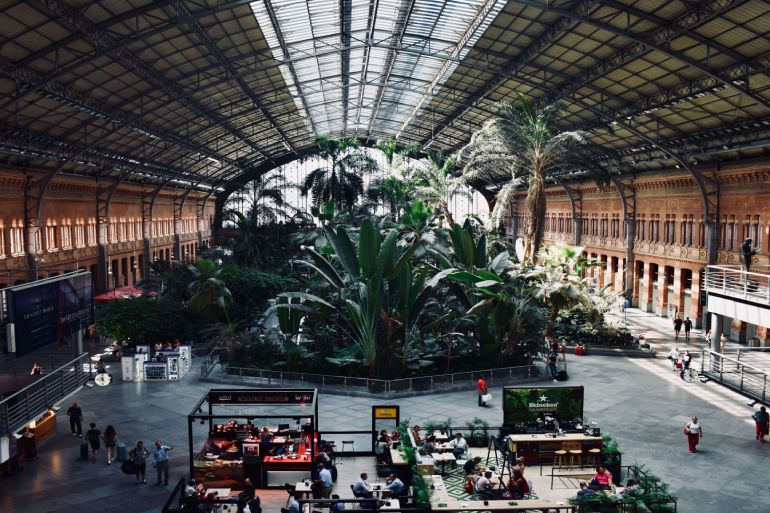 atocha is the station in madrid for spain transportation by train