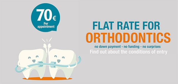 Orthodontics flat rate