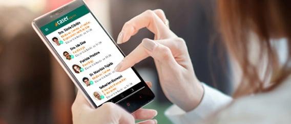 doctor messaging app