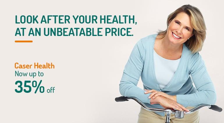 promotion for caser health insurance