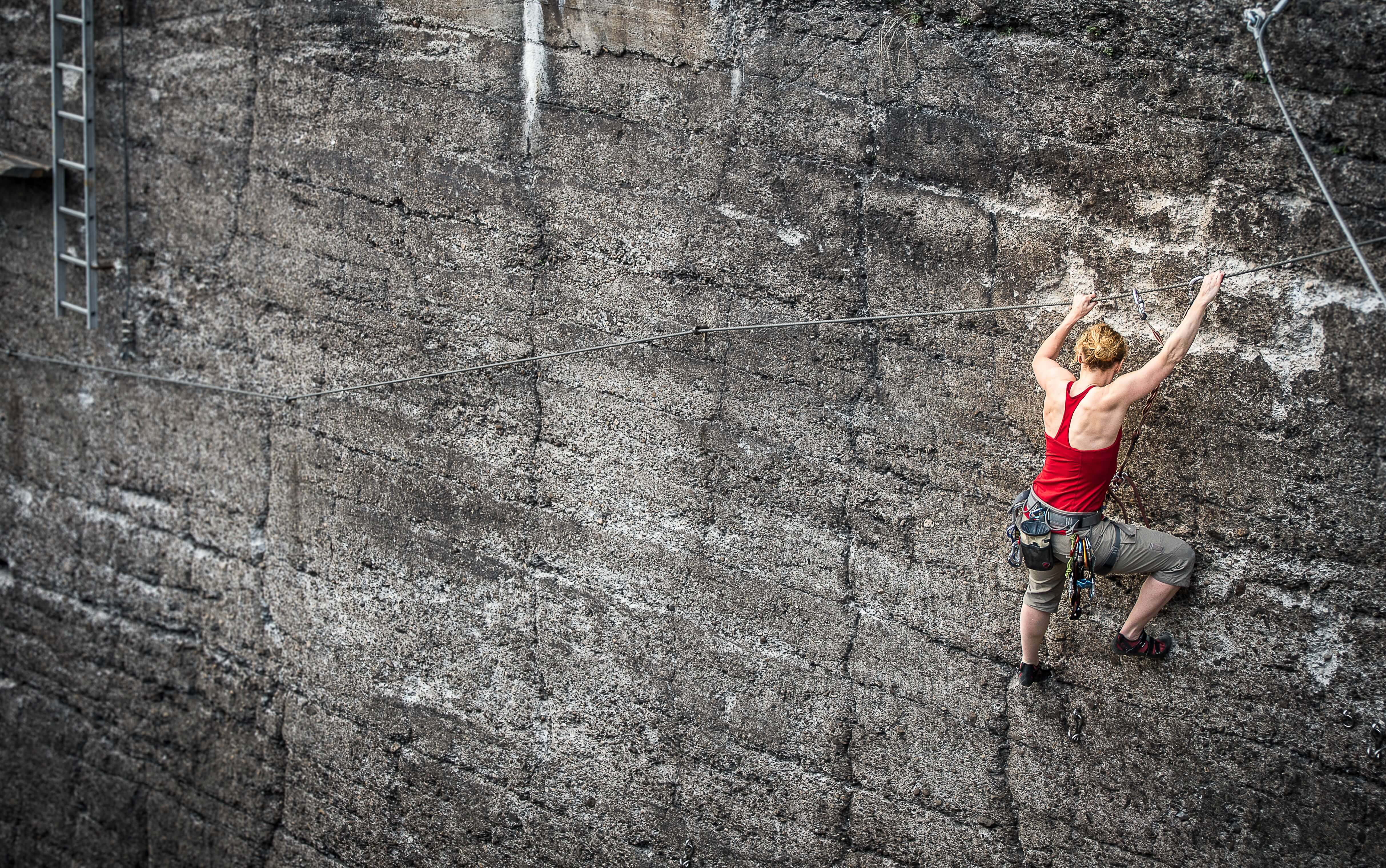 Rock climbing is a sport in Spain you can do during autumn