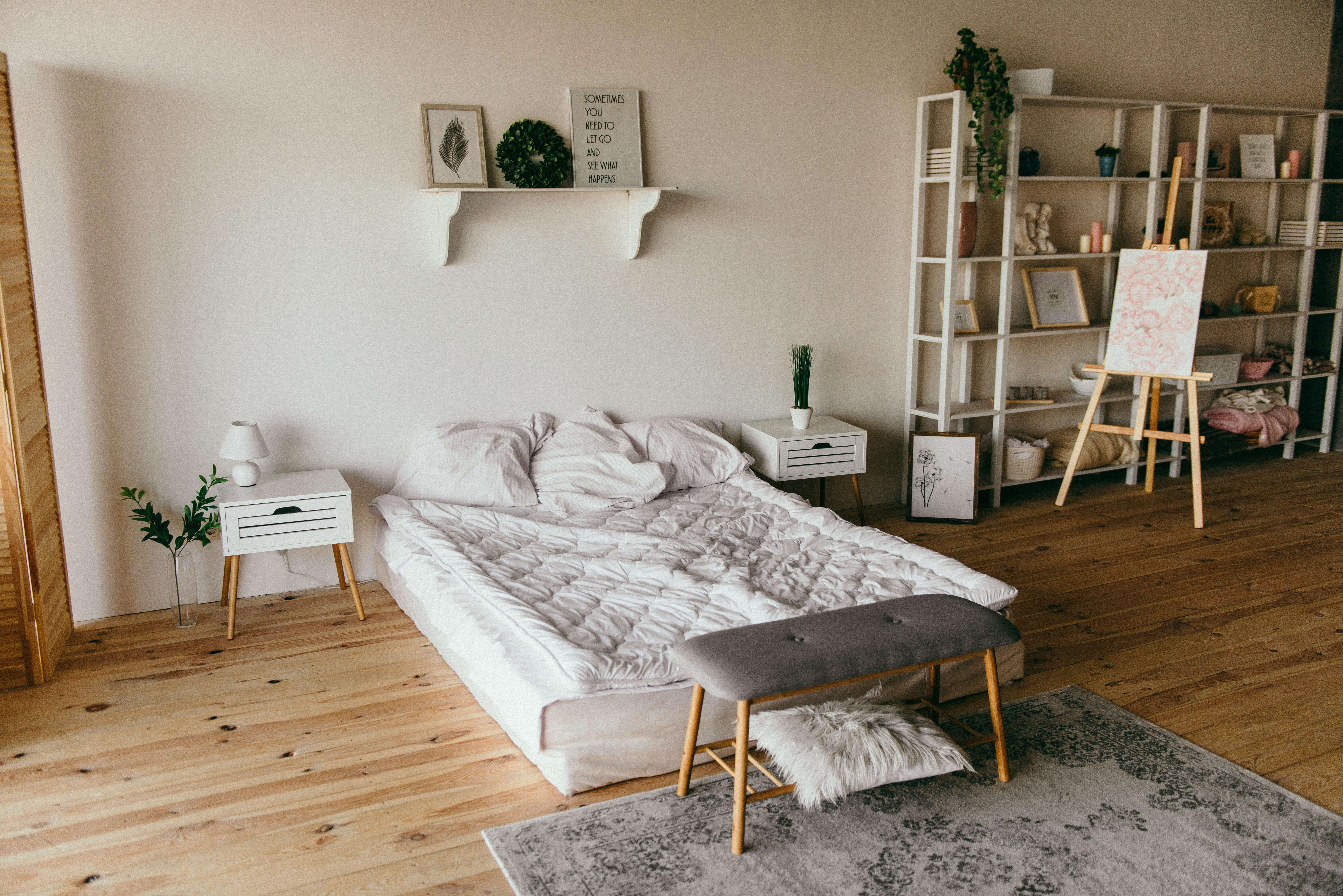 a great bedroom is one of the steps for buying a house