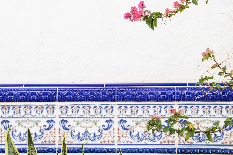 typical Spanish tiles