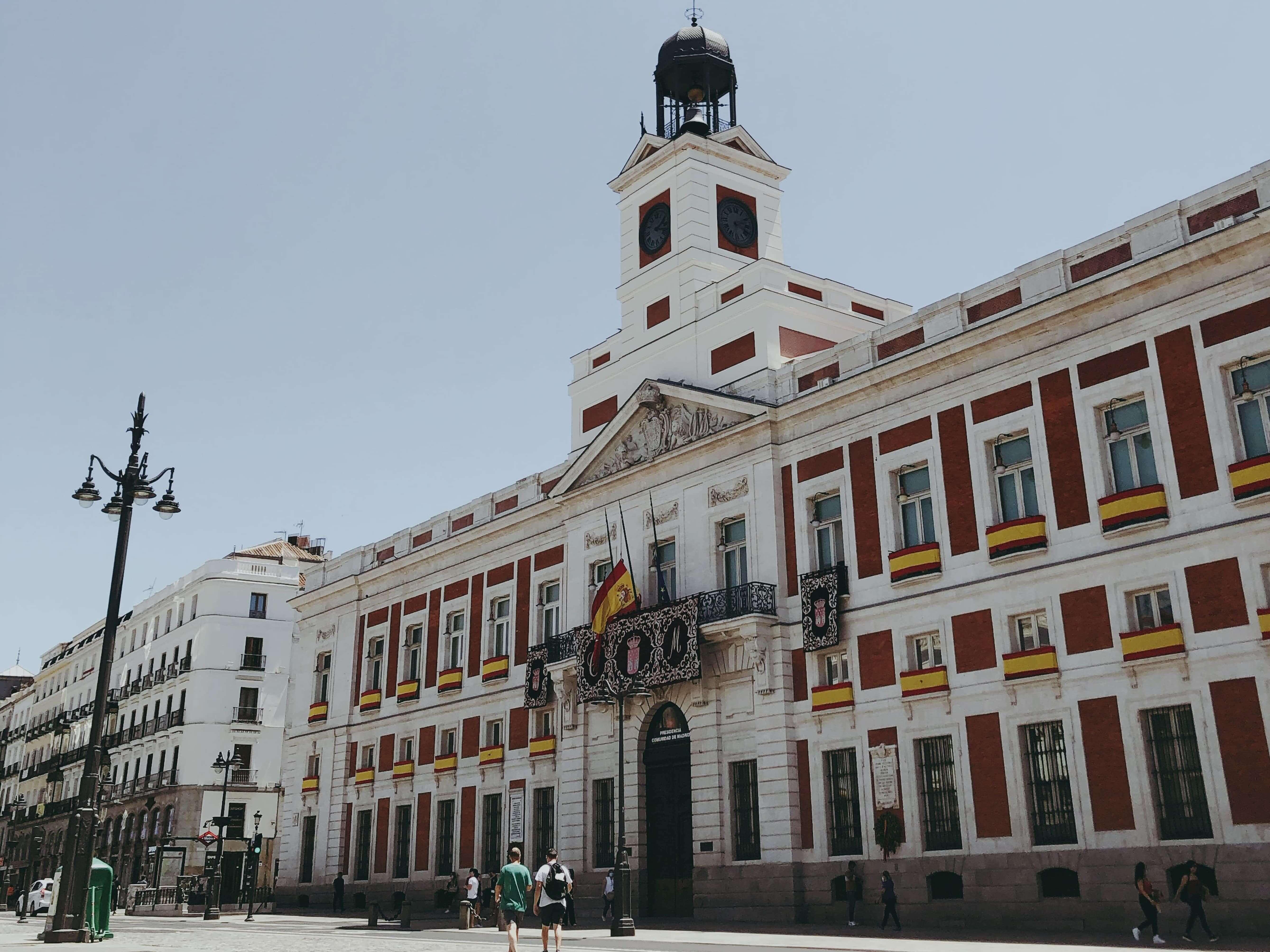 plaza del sol in madrid 360