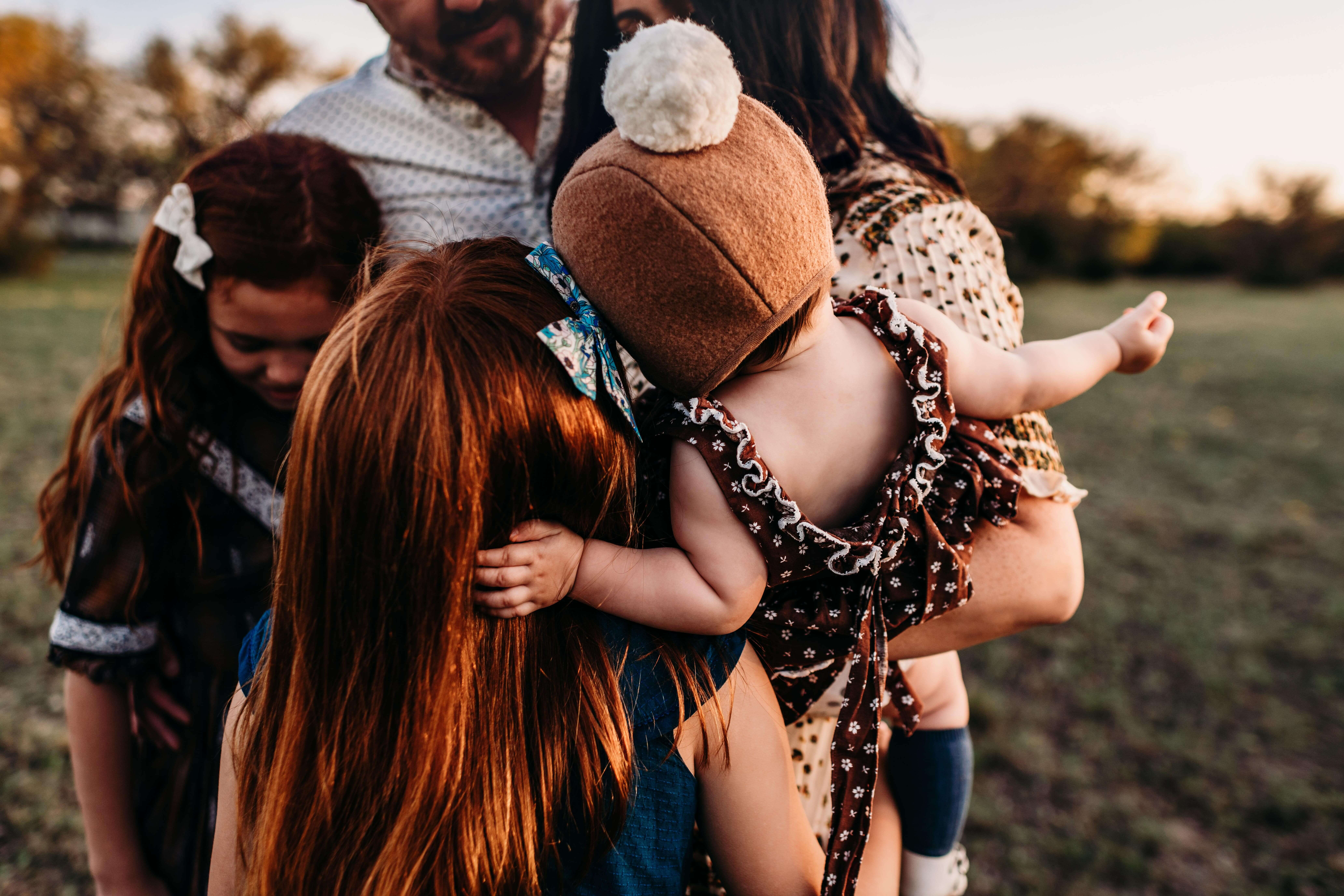 group of children covered by family insurance plans