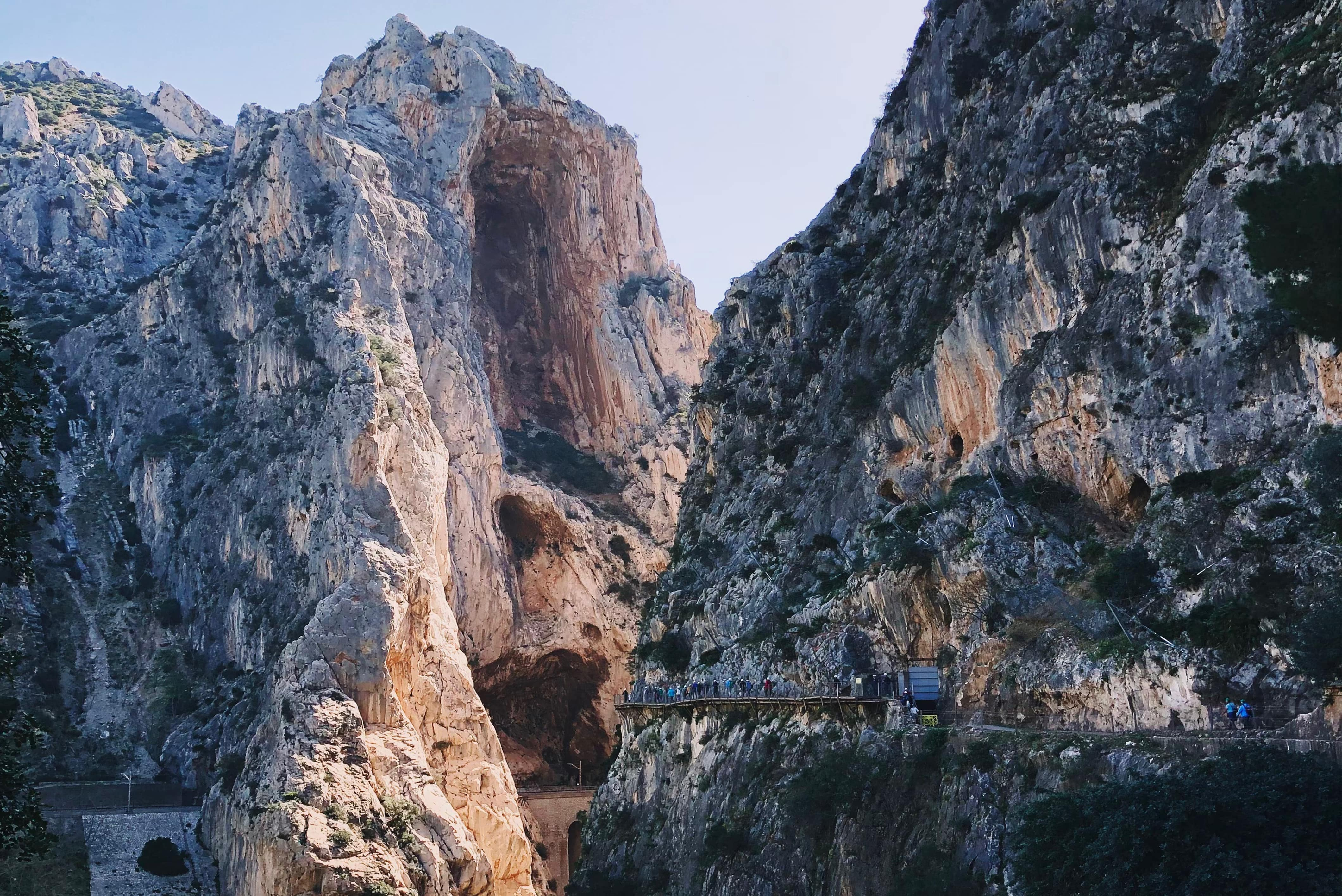 best hikes in spain along the cliffs