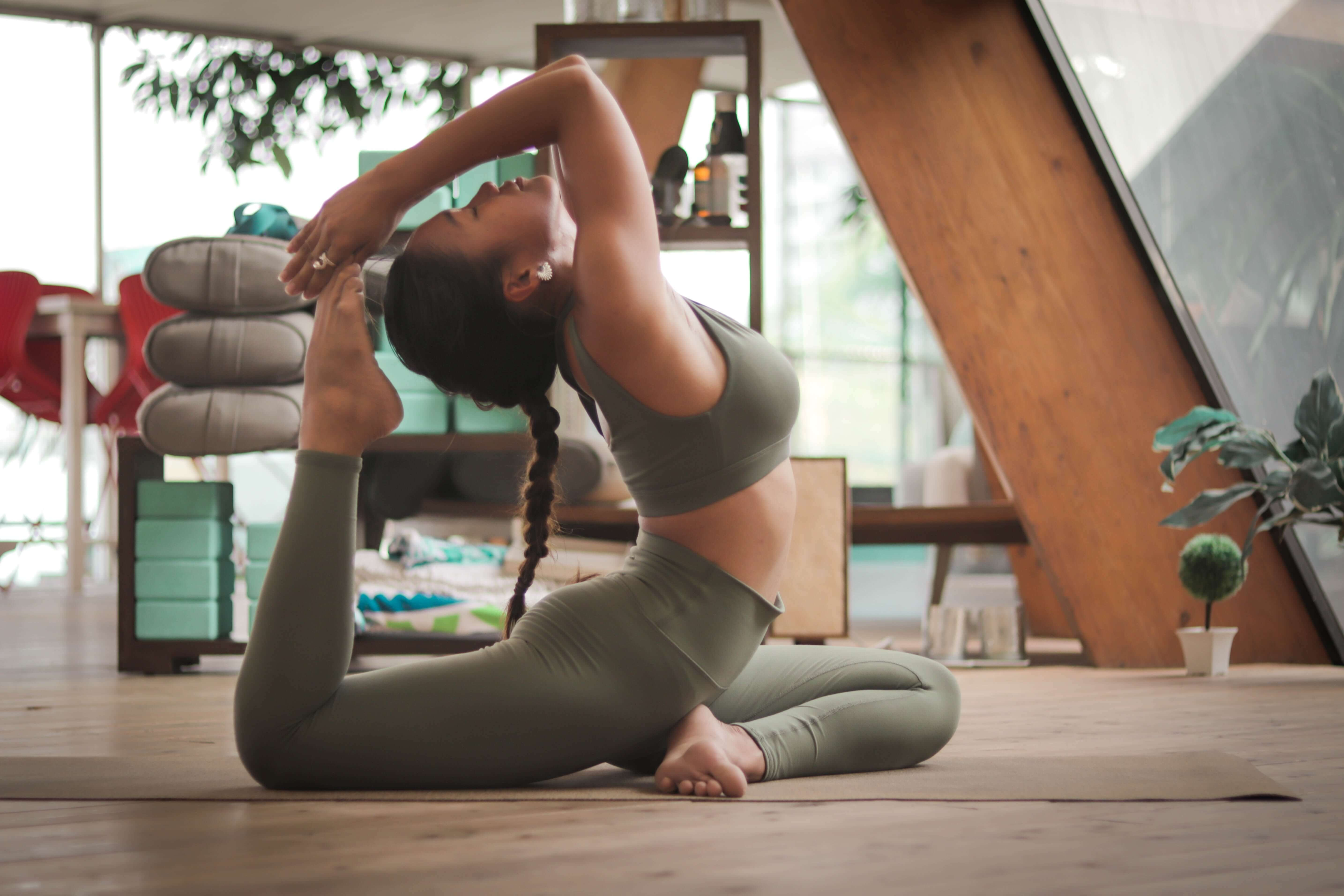 yoga as a home workout