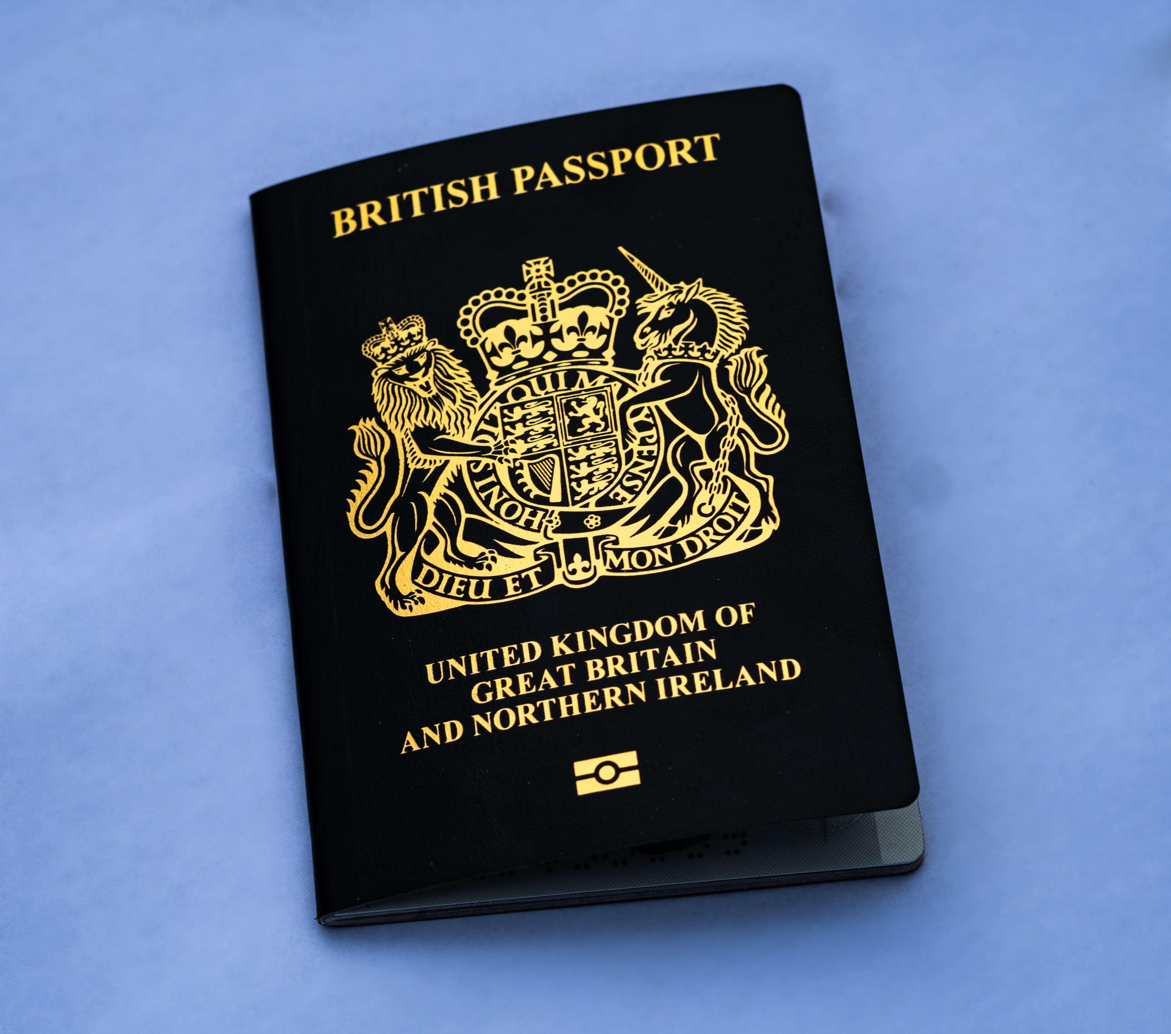british passport for people with spanish and british dual nationality