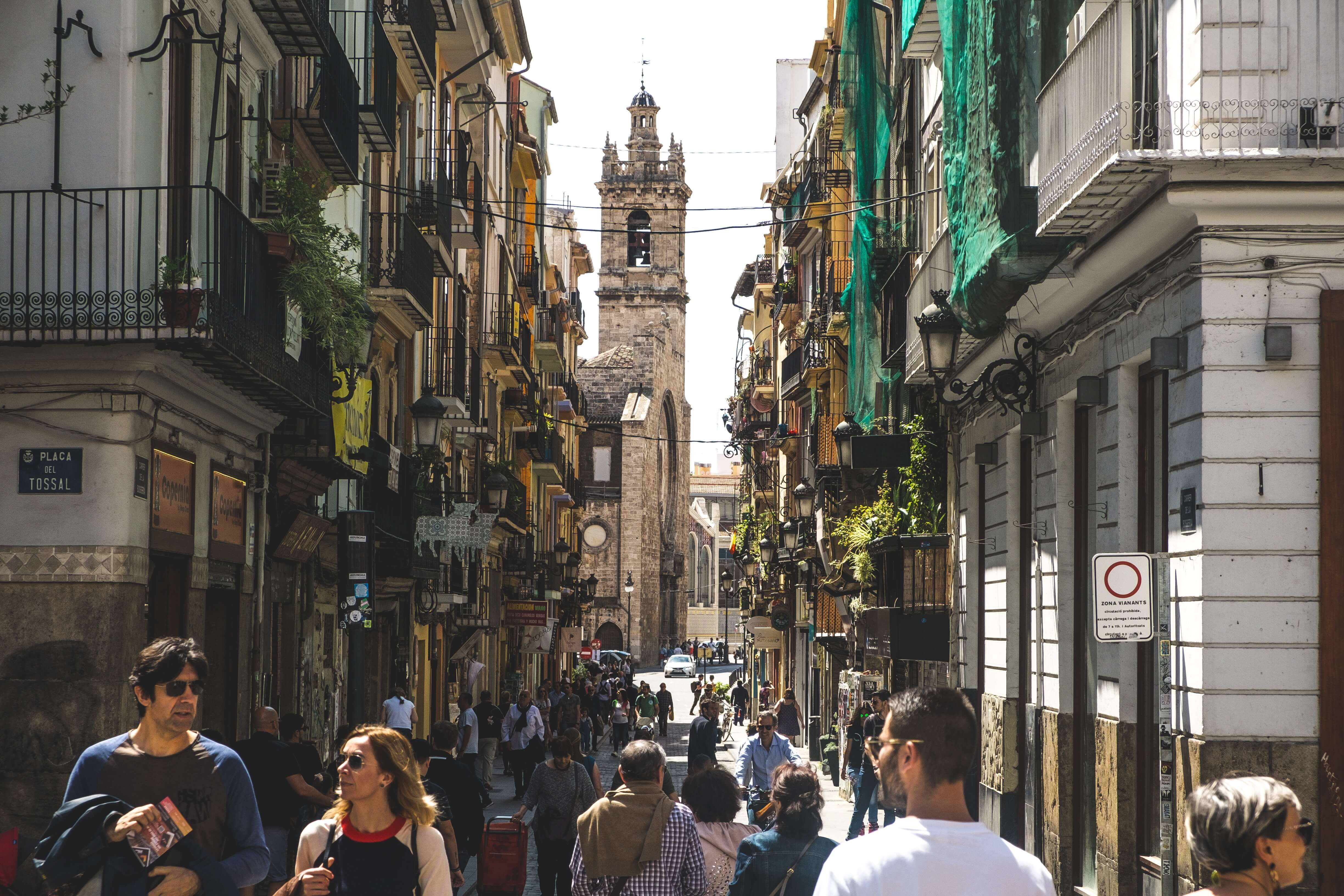 most valencia spain festivals take place in summer