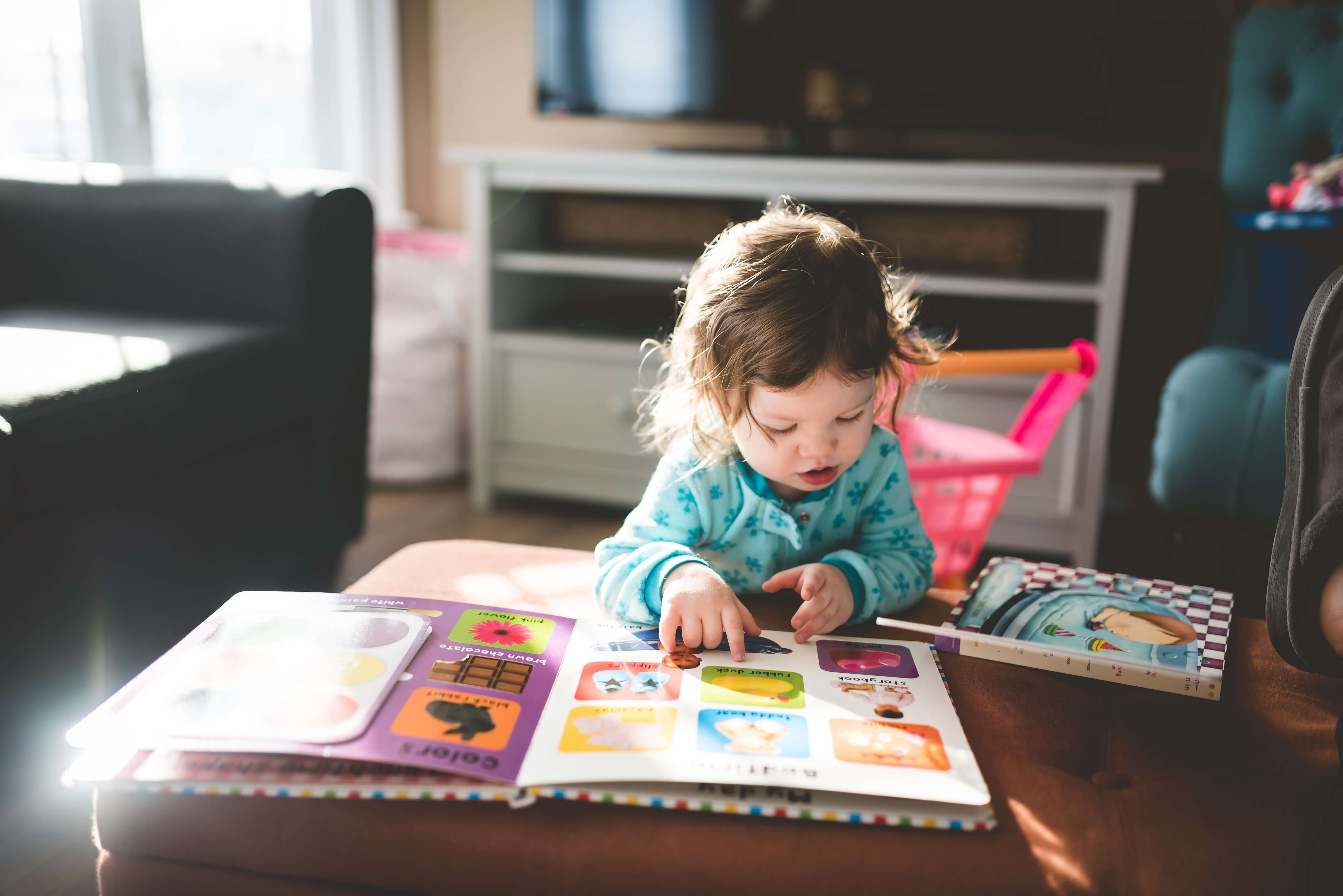 reading is one of the best indoor acitivites for kids