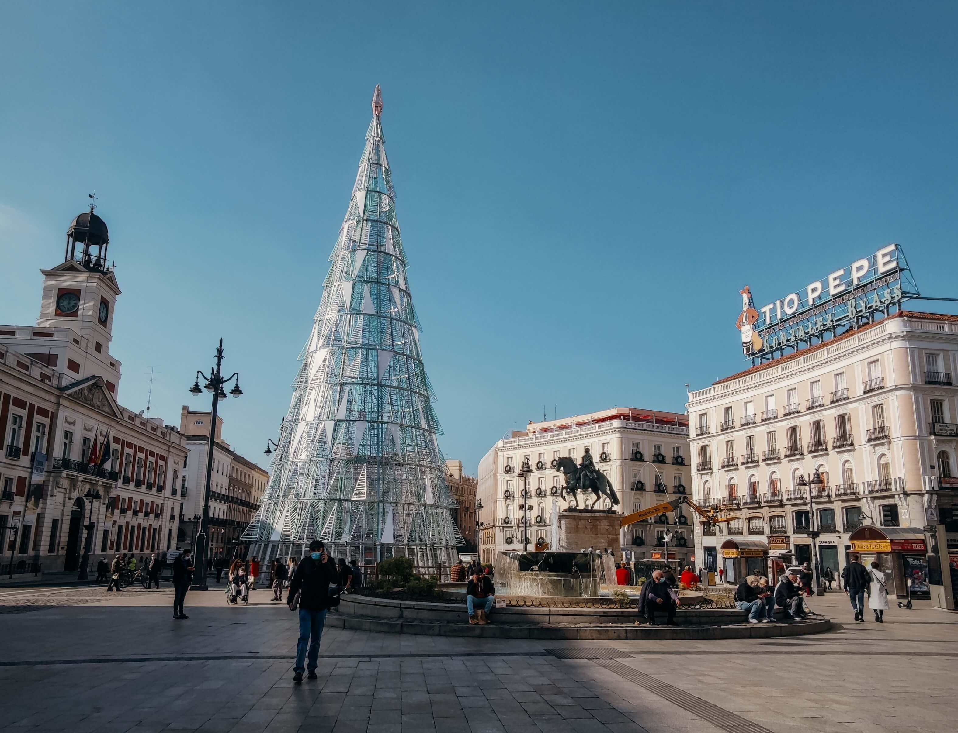 Spain For Christmas Madrid
