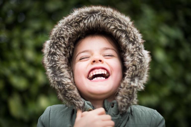 cuerpo child smiling