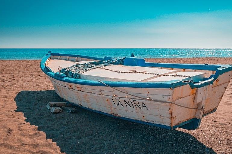 spain calas boat