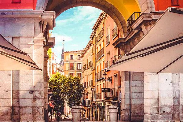 downtown madrid is where you should live in madrid