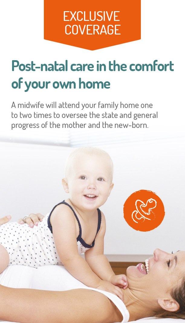 Postnatal care in your home